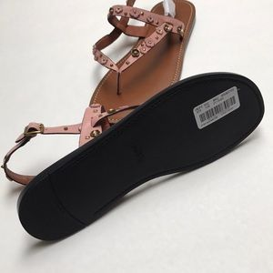 d478381d29 Coach Hudson Tea Rose Sandal Pink Size 9 NWT